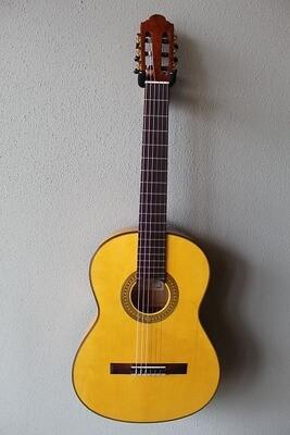 Marlon (Francisco) Navarro Flamenco Blanca Guitar