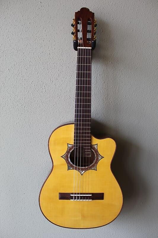 Marlon (Francisco) Navarro Acoustic/Electric Requinto Guitar with Cutaway