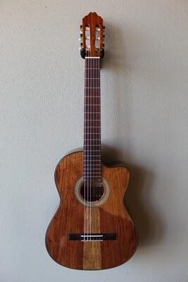 Francisco Navarro Jr. Premium Wood Tesoro Model Classical Guitar with Cutaway