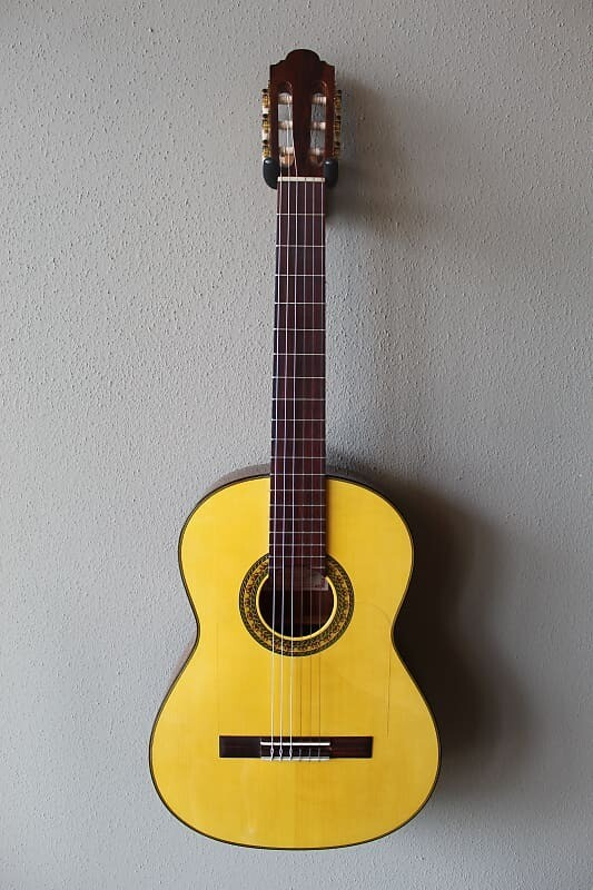 Marlon (Francisco) Navarro Flamenco Negra Guitar