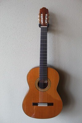 Francisco Navarro Cedar Top Concert Classical Guitar with Lattice Style Bracing