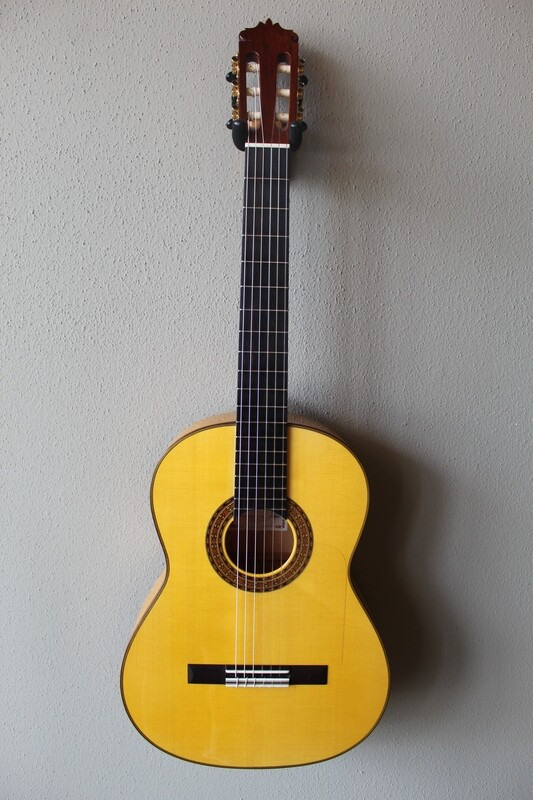 Francisco Navarro Concert Flamenco Blanca Guitar
