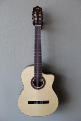 Cordoba Iberia Series GK Studio Acoustic/Electric Flamenco Negra Guitar