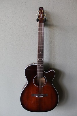 Seagull Performer CW Concert Hall Burnt Umber QIT Acoustic Guitar
