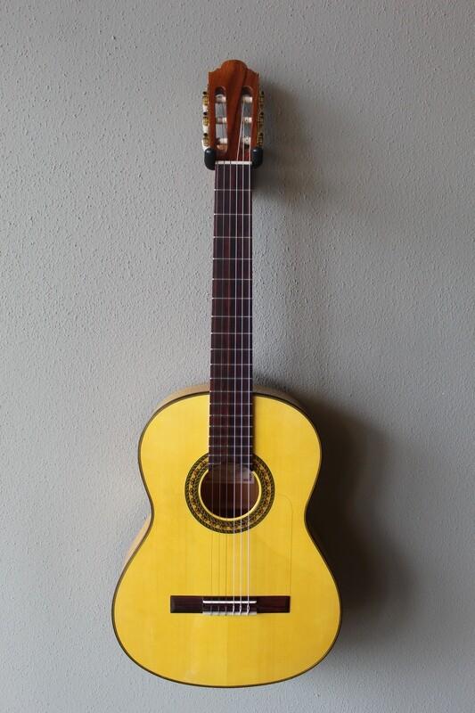 Marlon (Francisco) Navarro Left Handed Flamenco Blanca Guitar