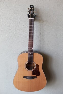 Seagull S6 Dreadnought Acoustic Guitar with Gig Bag