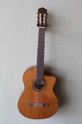 Cordoba C5-CE Acoustic/Electric Cedar Top Classical Guitar with Gig Bag