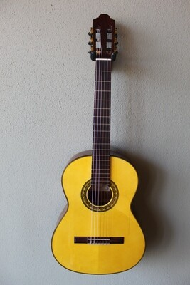 Marlon (Francisco) Navarro Flamenco Negra Guitar - 630 Scale