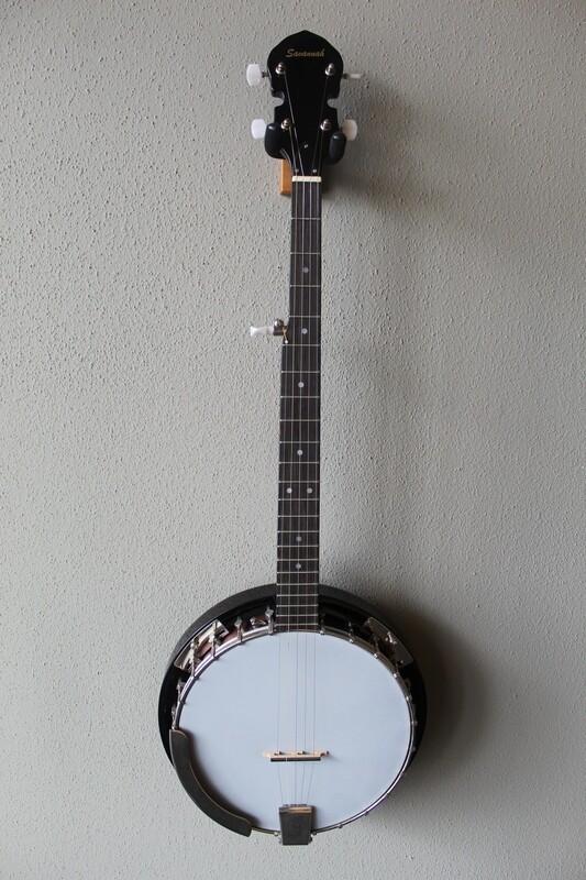 Savannah SB-100 24 Bracket 5 String Resonator Banjo with Gig Bag