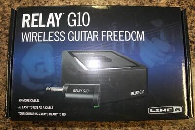 Line 6 Relay G10 Digital Wireless Guitar System