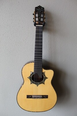 Used 2014 Francisco Navarro Custom Grand Concert Requinto Guitar