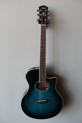 Yamaha APX600 Acoustic/Electric Guitar with Gig Bag - Blue Burst