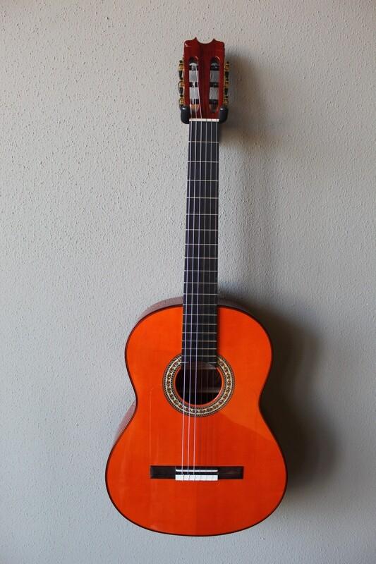 Francisco Navarro Jr. Conde Hermanos Tribute Flamenco Negra Guitar