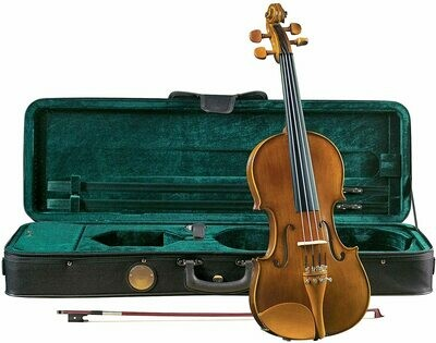 Cremona SV-150 Violin Outfit with Case and Bow - 1/4 Size