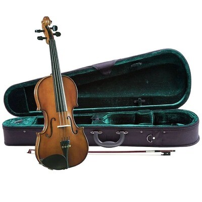 Cremona SV-130 Violin Outfit with Case and Bow - 1/4 Size