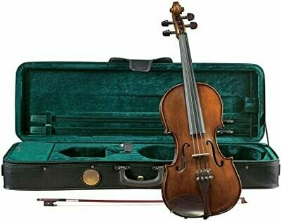 Cremona SV-165 Violin Outfit with Case and Bow - Full 4/4 Size