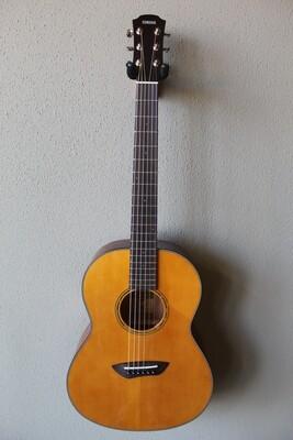 Yamaha CSF1M Compact Folk Acoustic/Electric Parlor Style Guitar - Vintage Natural
