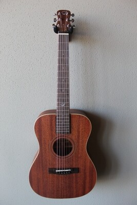 Journey OF312 Overhead Solid Mahogany Acoustic/Electric Travel Guitar