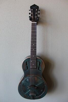 Recording King RM-993-VG Metal Body Parlor Resonator Guitar