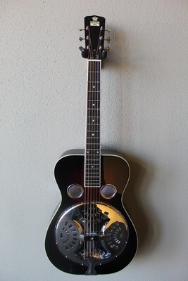 Recording King RR-50-VS Professional Series Roundneck Resonator Guitar