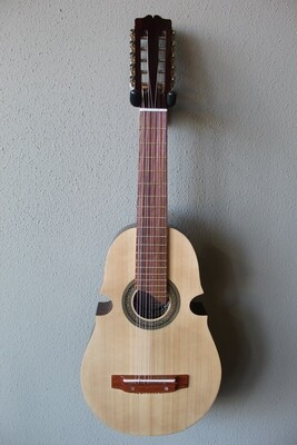 Paracho Elite Guitars Santiago Model Puerto Rican Style Cuatro with Gig Bag - Light Cedar Top