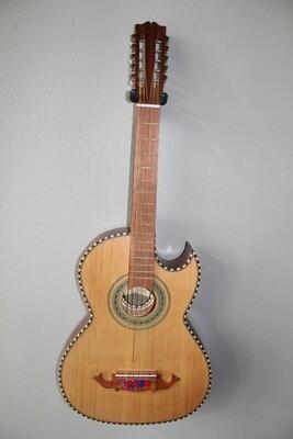 Paracho Elite Odessa Model Bajo Quinto Guitar with Gig Bag