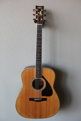 Used Yamaha FG-460S Dreadnought Acoustic Guitar with Hard Case