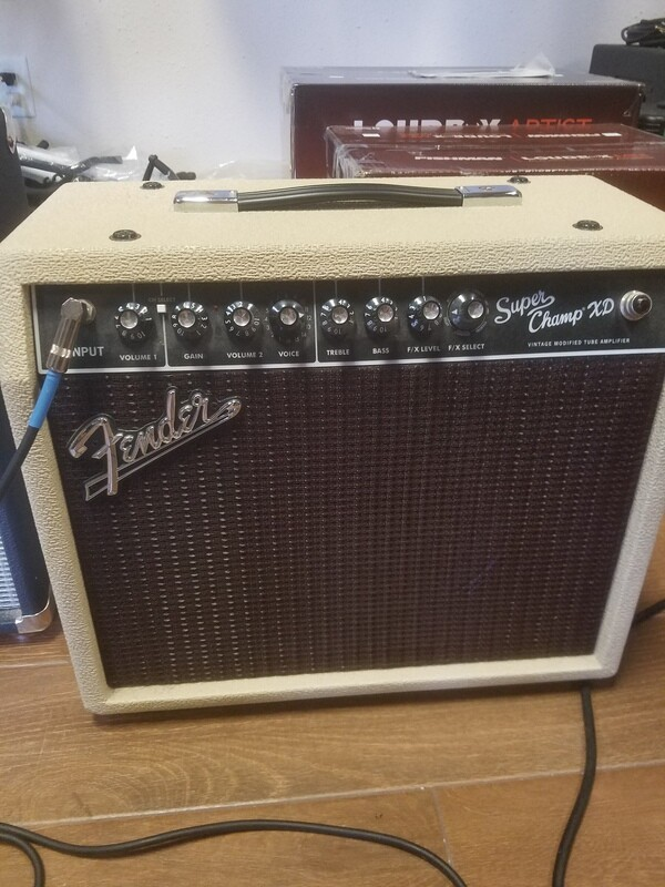 Used Fender Super Champ XD Limited Edition Electric Guitar Amplifier