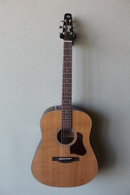 Seagull S6 Cedar Top Original Slim Dreadnaught Acoustic Guitar with Gig Bag