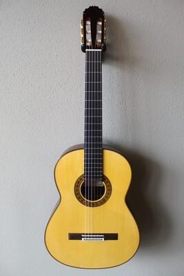 Francisco Navarro Reyes Model Grand Concert Flamenco Negra Guitar