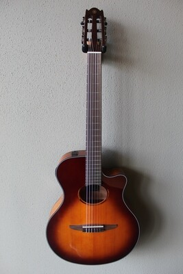 Yamaha NTX1 Acoustic/Electric Classical Guitar with Gig Bag - Sunburst