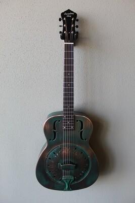 Recording King RM-997-VG Swamp Dog Metal Body Resonator Guitar