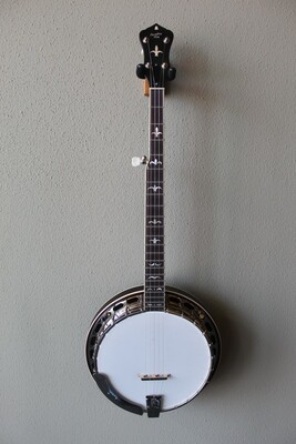 Recording King RK-R35-BR Madison 5-String Resonator Banjo with Deluxe Hard Case