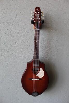 Seagull S8 Mandolin with Custom Seagull Gig Bag - Burnt Umber