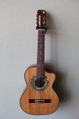 Paracho Elite Guitars Zapata Model Requinto with Gig Bag