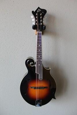 The Loar LM-520 Hand Carved F-Style Performer Mandolin with Gig Bag - Vintage Sunburst