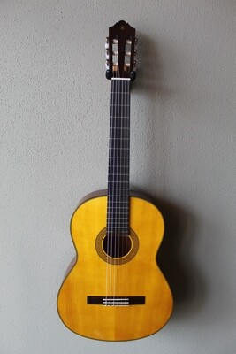 Yamaha CG142SH Nylon String Spruce Top Classical Guitar with Gig Bag