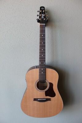 Seagull S6 Original Slim Q1T Cedar Top Acoustic/Electric Guitar with Gig Bag