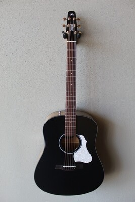 Seagull S6 Classic Black Acoustic/Electric Guitar with Gig Bag