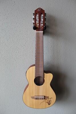 Ortega RGL5CE Guitar/Ukulele Guitarlele with Gig Bag