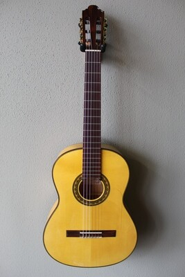 Marlon (Francisco) Navarro Flamenco Blanca Guitar - 640 Scale