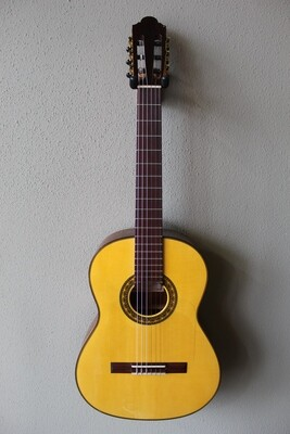 Marlon (Francisco) Navarro Flamenco Negra Guitar - 640 Scale