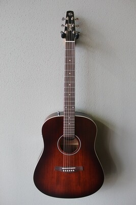 Seagull S6 Original Burnt Umber Acoustic/Electric Guitar with Gig Bag