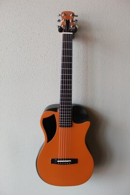 Journey OF660 Overhead Carbon Fiber Acoustic/Electric Travel Guitar - Orange Matte