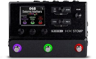 Line 6 HX Stomp Compact Amp and Effects Processor Guitar Pedal