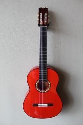 Francisco Navarro Conde Hermanos Model Grand Concert Flamenco Blanca Guitar