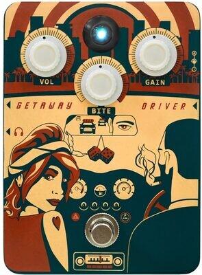 Orange Getaway Driver Overdrive Guitar Distortion Pedal