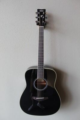 Yamaha FG-TA TransAcoustic Dreadnought Acoustic Guitar with Gig Bag - Black