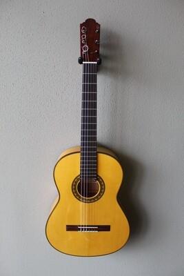 Francisco (Marlon) Navarro Flamenco Blanca Guitar - Traditional Pegs
