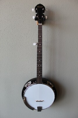 Savannah SB-080 18 Bracket 5 String Banjo with Gig Bag